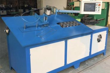2D cnc自動鋼線曲げ機械