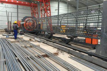 最高の価格溶接金網ロールマシン、補強ケージシーム溶接機の直径500~2000ミリメートル