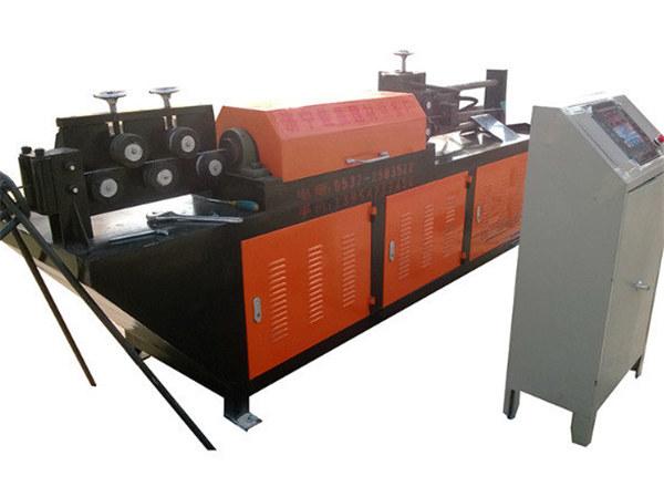GT4  -  14線材の鉄筋の整直と切断機