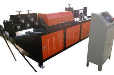 自動油圧ワイヤー整直・切断機