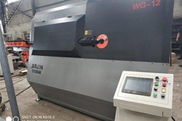 中国の自動スティルラップベンダーで作られた変形されたバーの産業機械装置